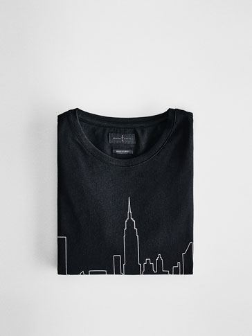 MAGLIETTA SKYLINE NEW YORK SOFT