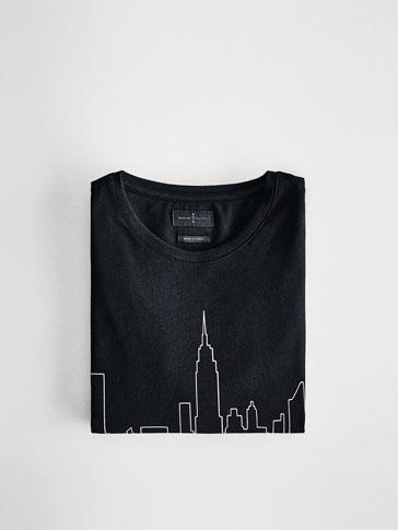 T-SHIRT SKYLINE NEW YORK SOFT