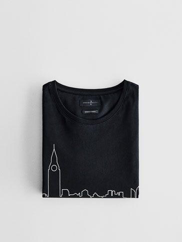 SOFT SKYLINE 런던 티셔츠