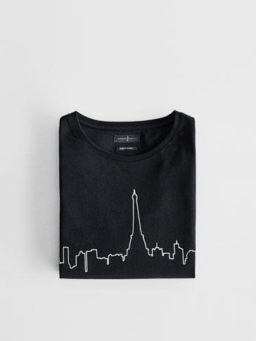 SOFT SKYLINE 파리 티셔츠
