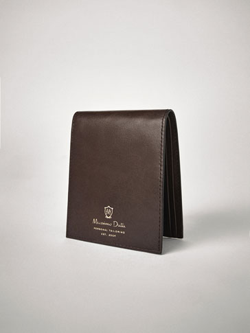 PERSONAL TAILORING PLAIN LEATHER WALLET