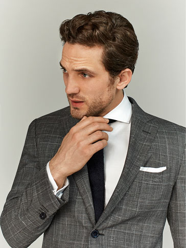 LIMITED EDITION CHECKED SUIT BLAZER