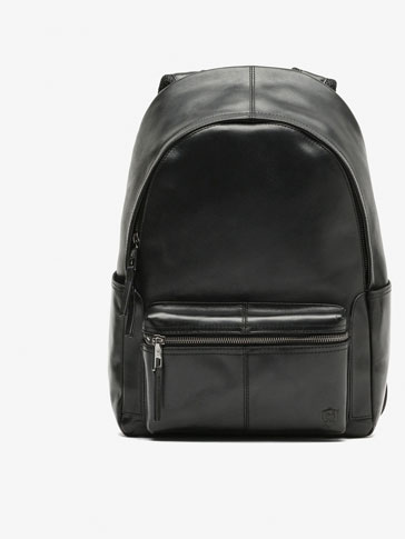 LEATHER BURTON BACKPACK