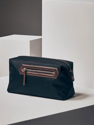 حقيبة الأدوات الشخصية جلد ممزوج تقني إصدار محدود