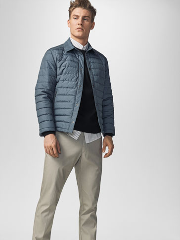 QUILTED TECHNICAL OVERSHIRT