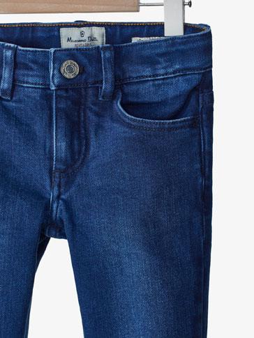 سروال جينز أزرق سليم فيت
