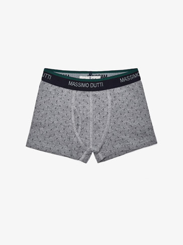 BOXER SHORTS WITH MUSICAL DETAIL