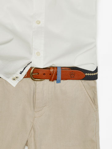 حزام مرن كحلي