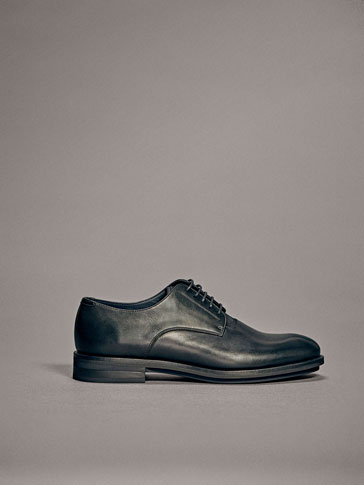 CHAUSSURE CUIR CLAQUE UNIE LIMITED EDITION