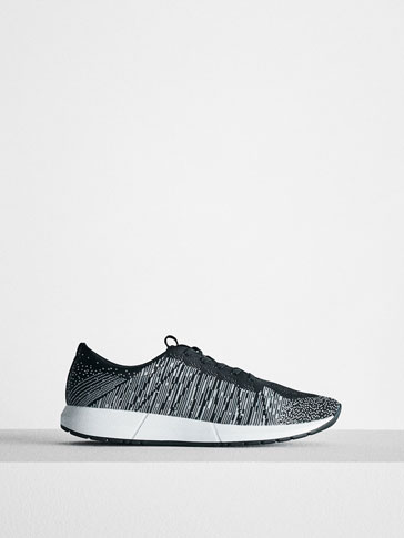 SOFT TWO-TONE SNEAKERS