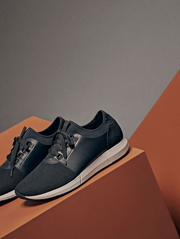 LIMITED EDITION CONTRAST SNEAKERS