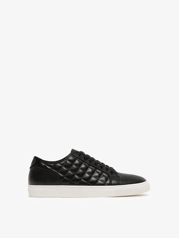 QUILTED LEATHER SNEAKERS