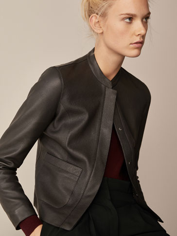 NAPPA JACKET WITH TAB DETAIL