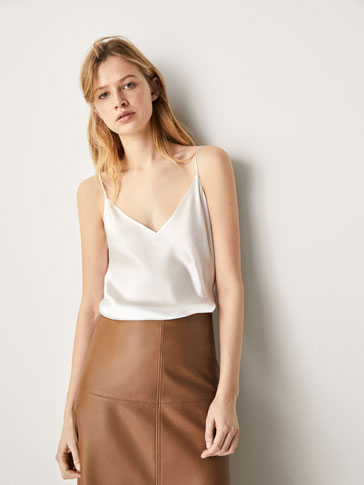 PLAIN SILK TOP