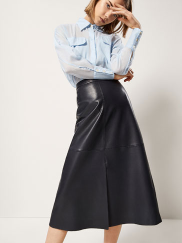 NAPPA SKIRT WITH SLIT DETAIL
