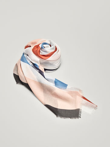 FOULARD STAMPA RIGHE