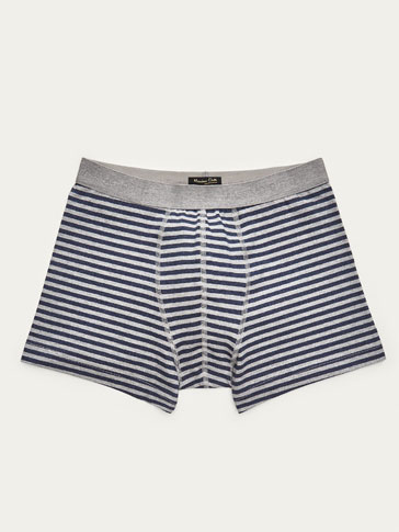 BOXER SHORTS WITH STRIPES DETAIL