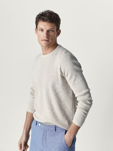 PULL COTON TEXTURE
