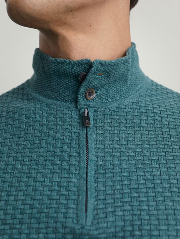 INTERWOVEN SWEATER