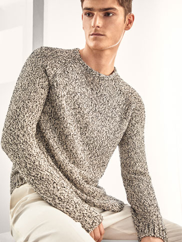 LIMITED EDITION EMBELLISHED ROUND NECK SWEATER