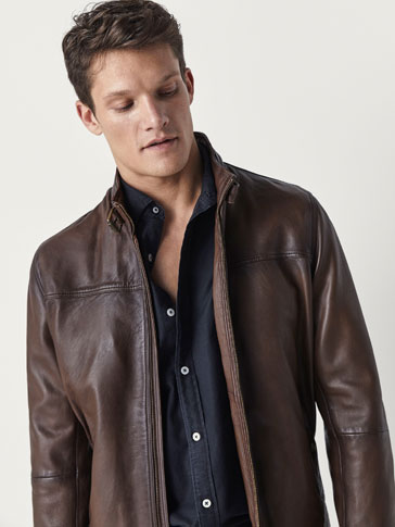 NAPPA JACKET WITH BUCKLE DETAIL