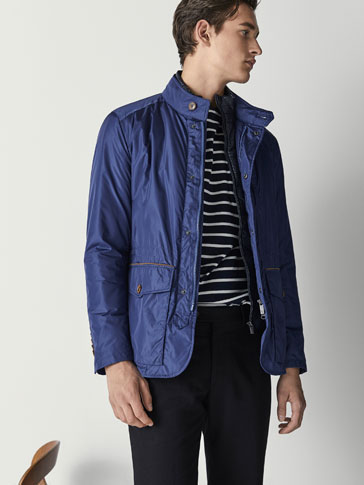 TECHNICAL JACKET WITH REMOVABLE LINING