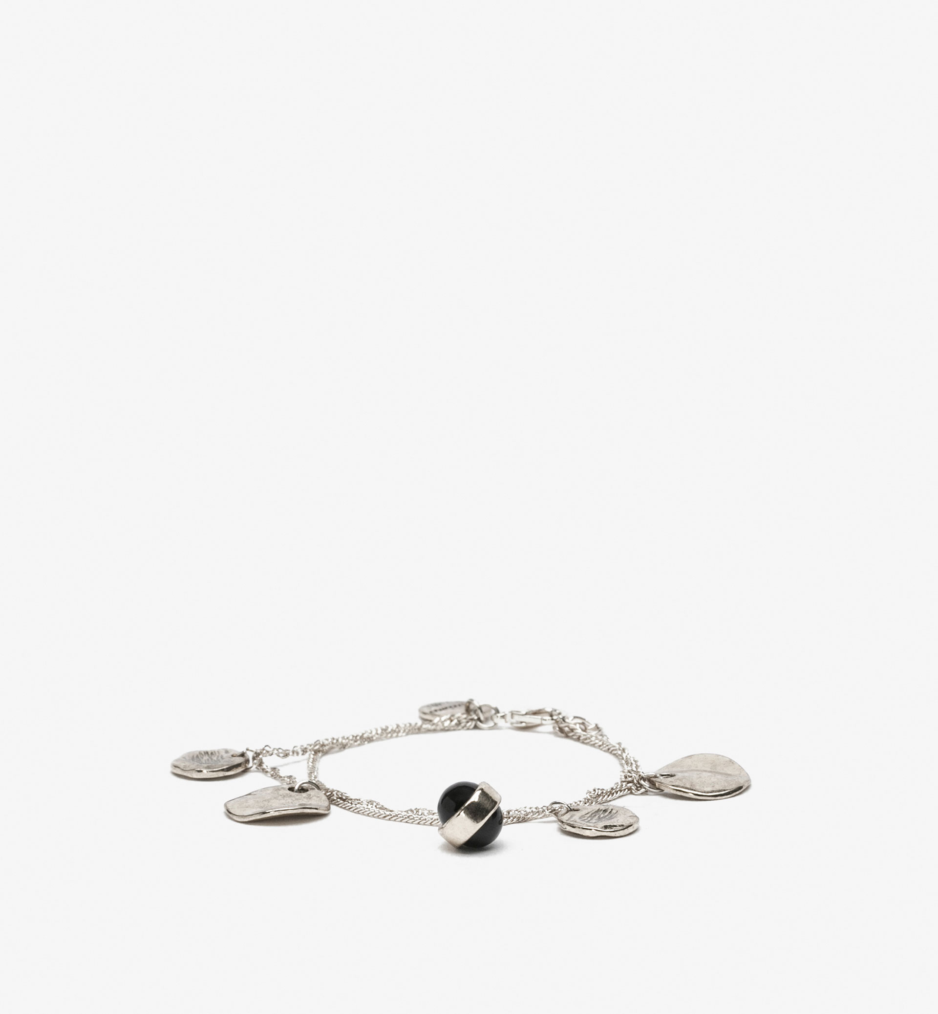 BRACELET WITH PLATES