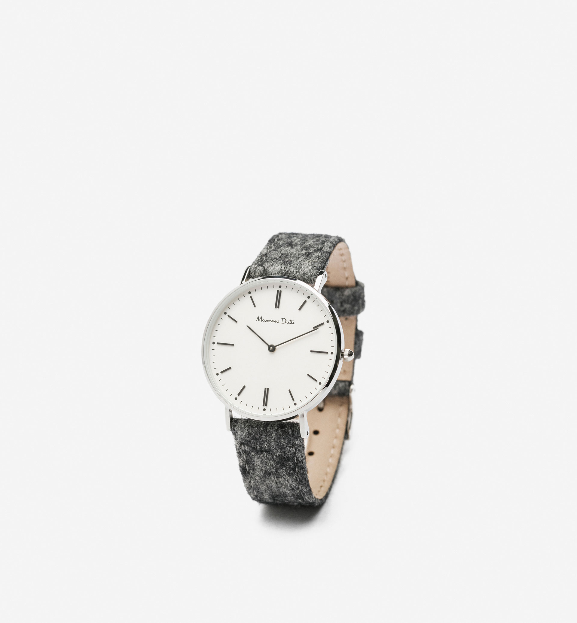 FLANNEL WATCH WITH DOUBLE STRAP