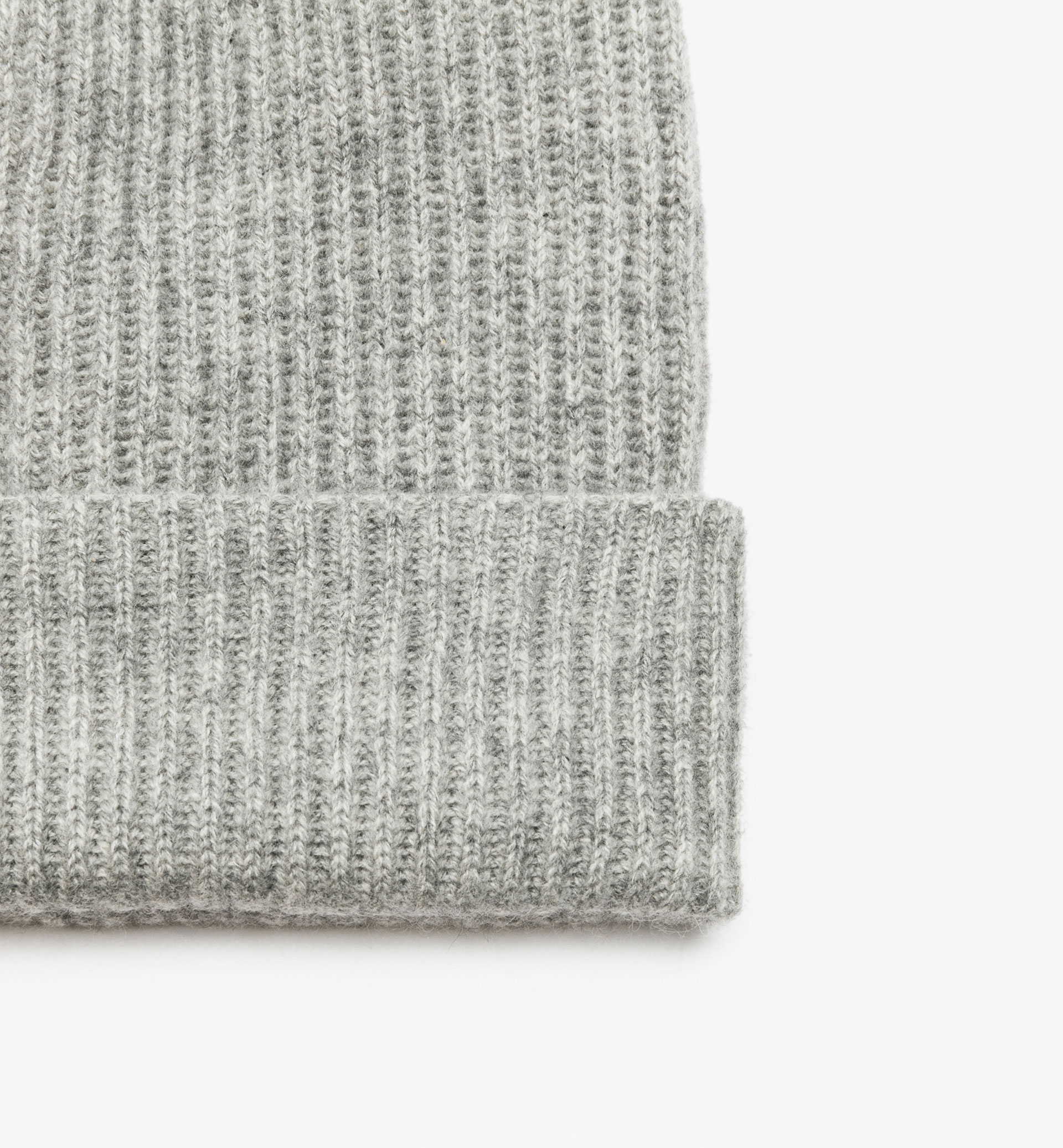 LIMITED GREY 100% CASHMERE HAT