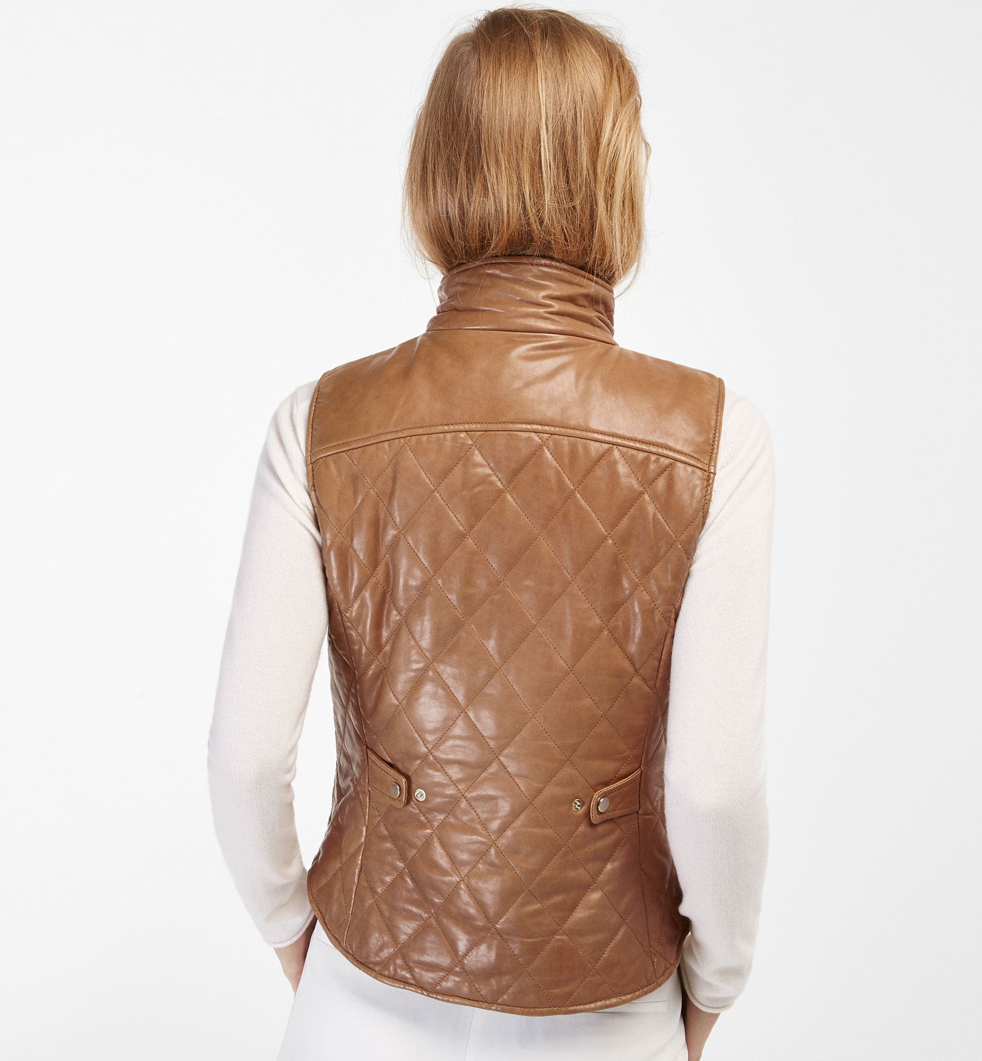 QUILTED NAPPA GILET
