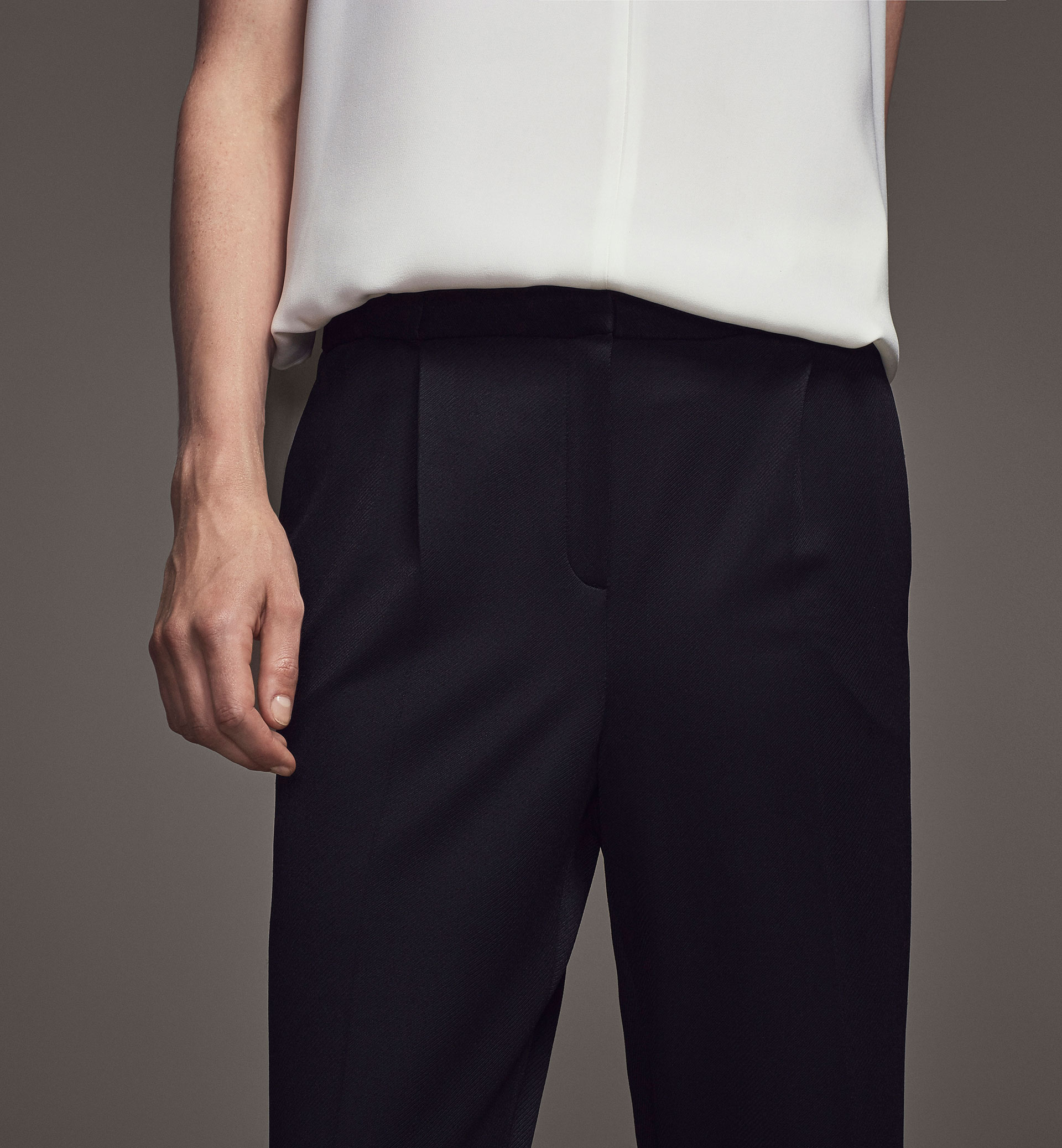 LIMITED EDITION PLEAT FRONT TROUSERS