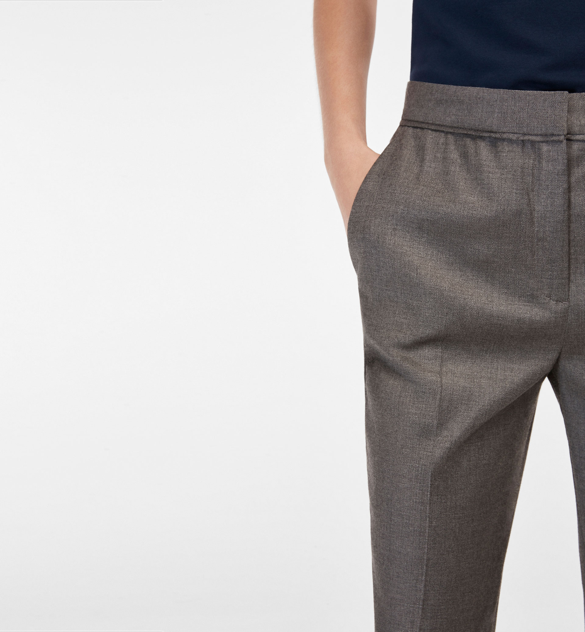 SMART GREY TROUSERS