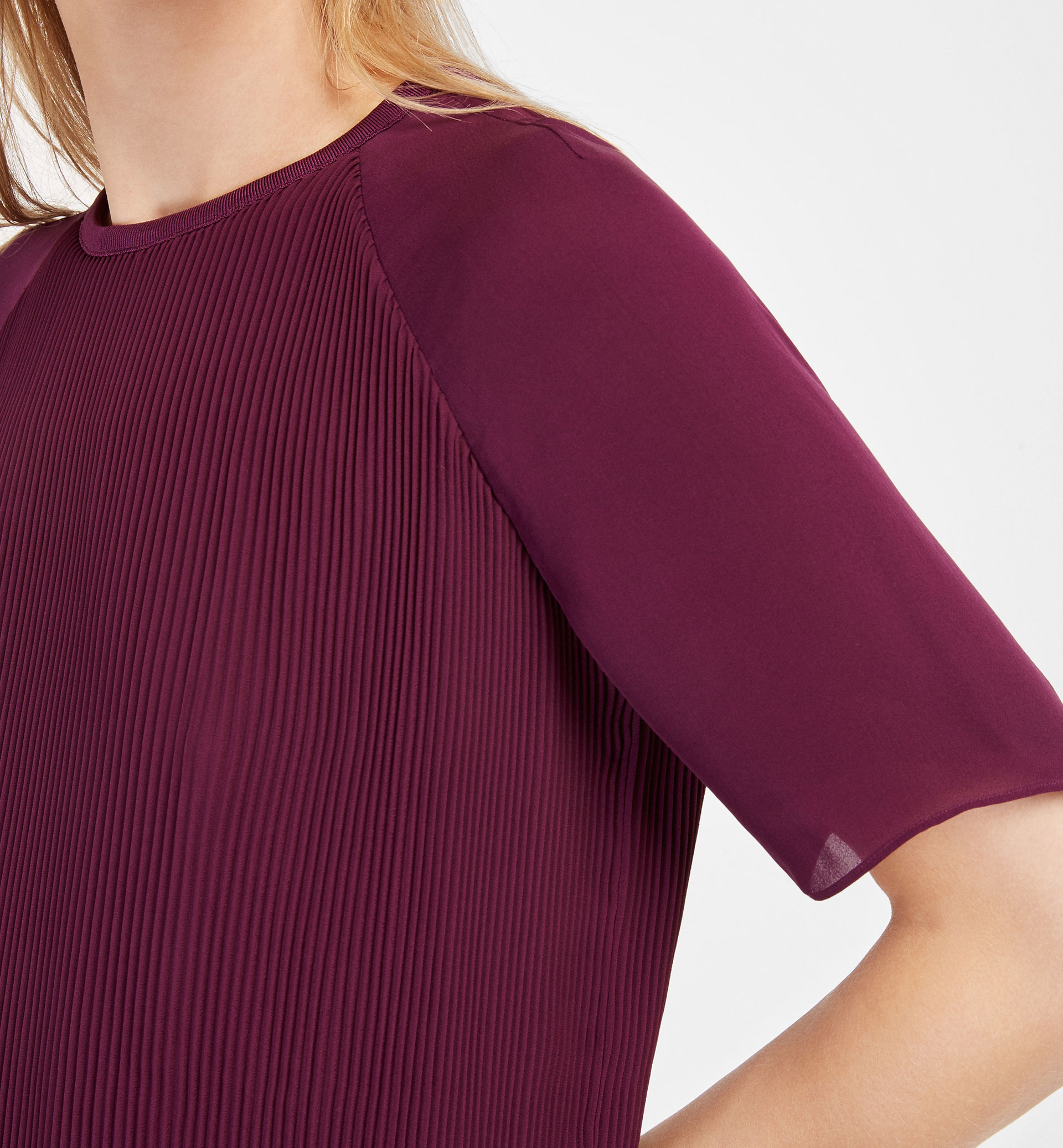 PLEATED TOP
