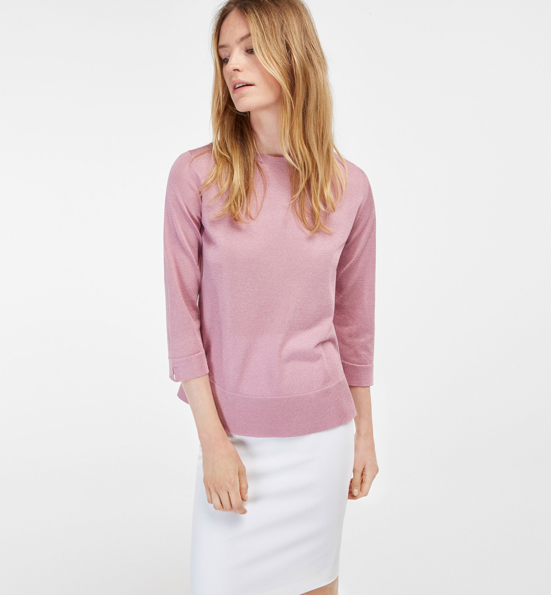 A-LINE STYLE CAPE SWEATER