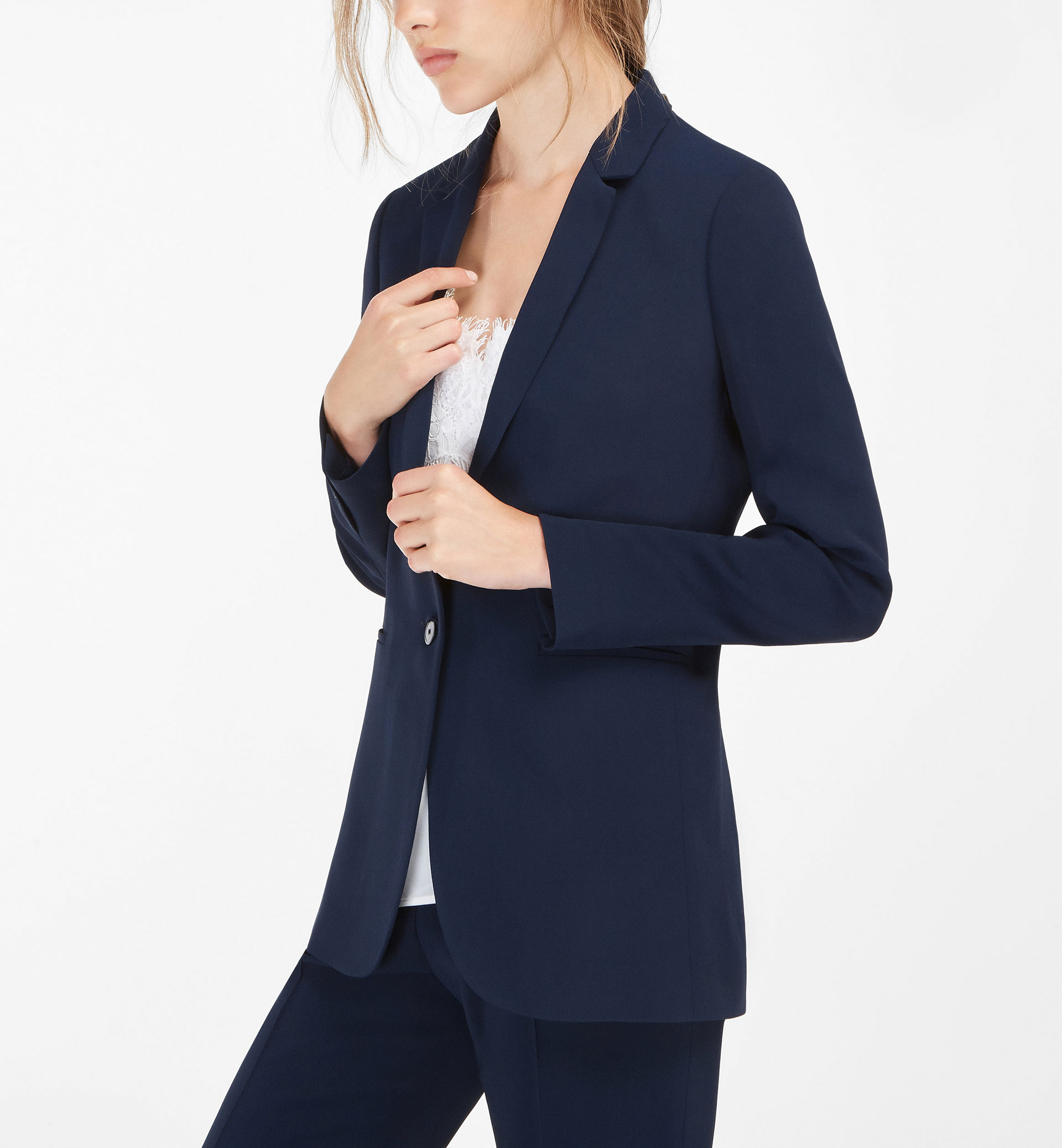 NAVY BLUE SUIT JACKET