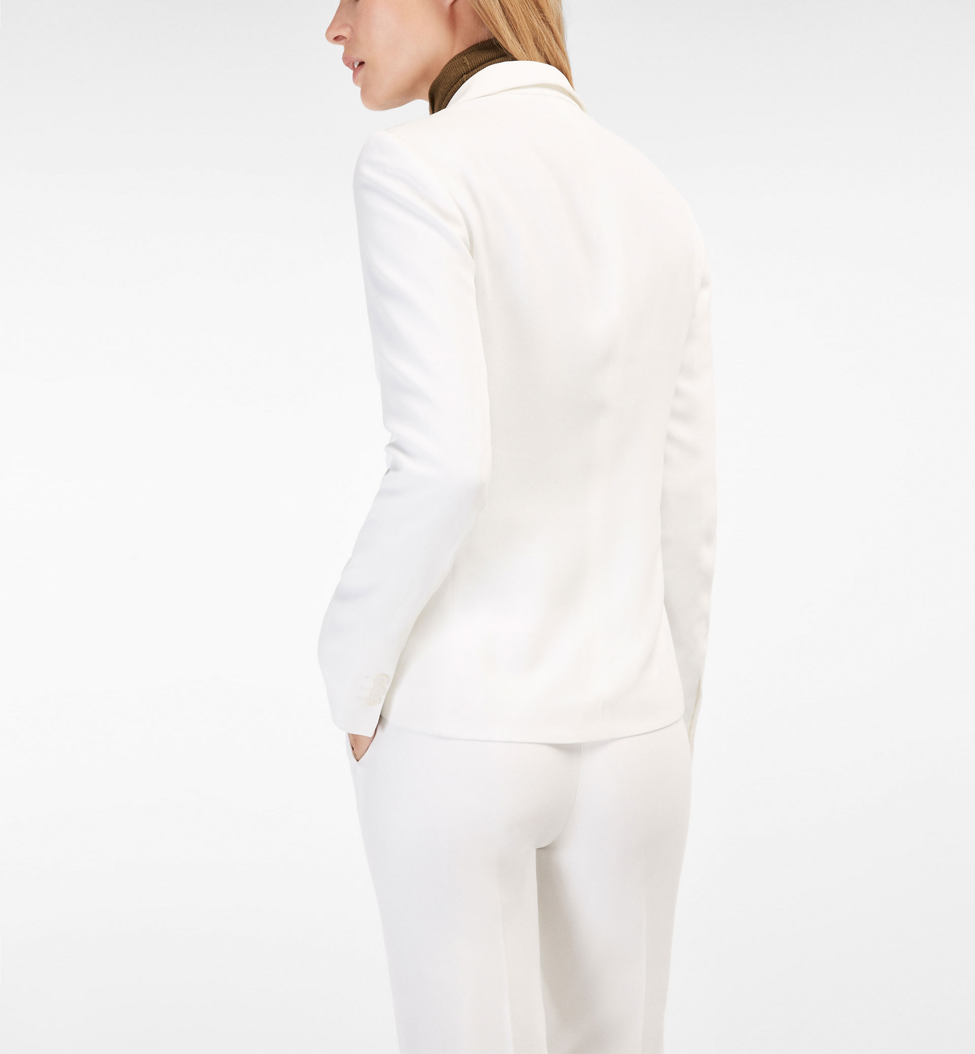 CREPE SUIT JACKET