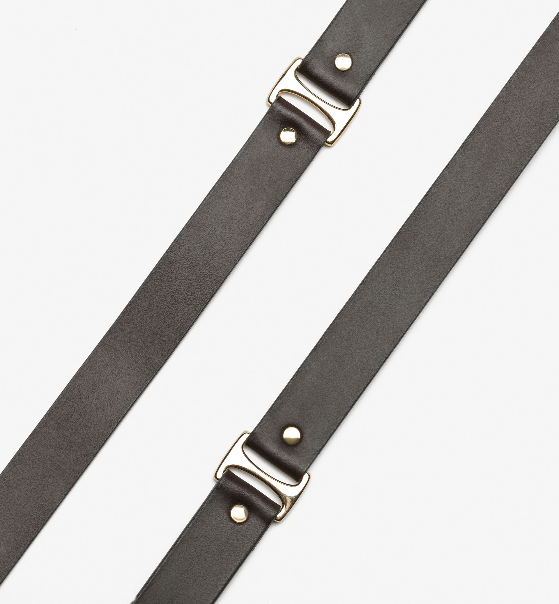 BELT WITH METALLIC RINGS