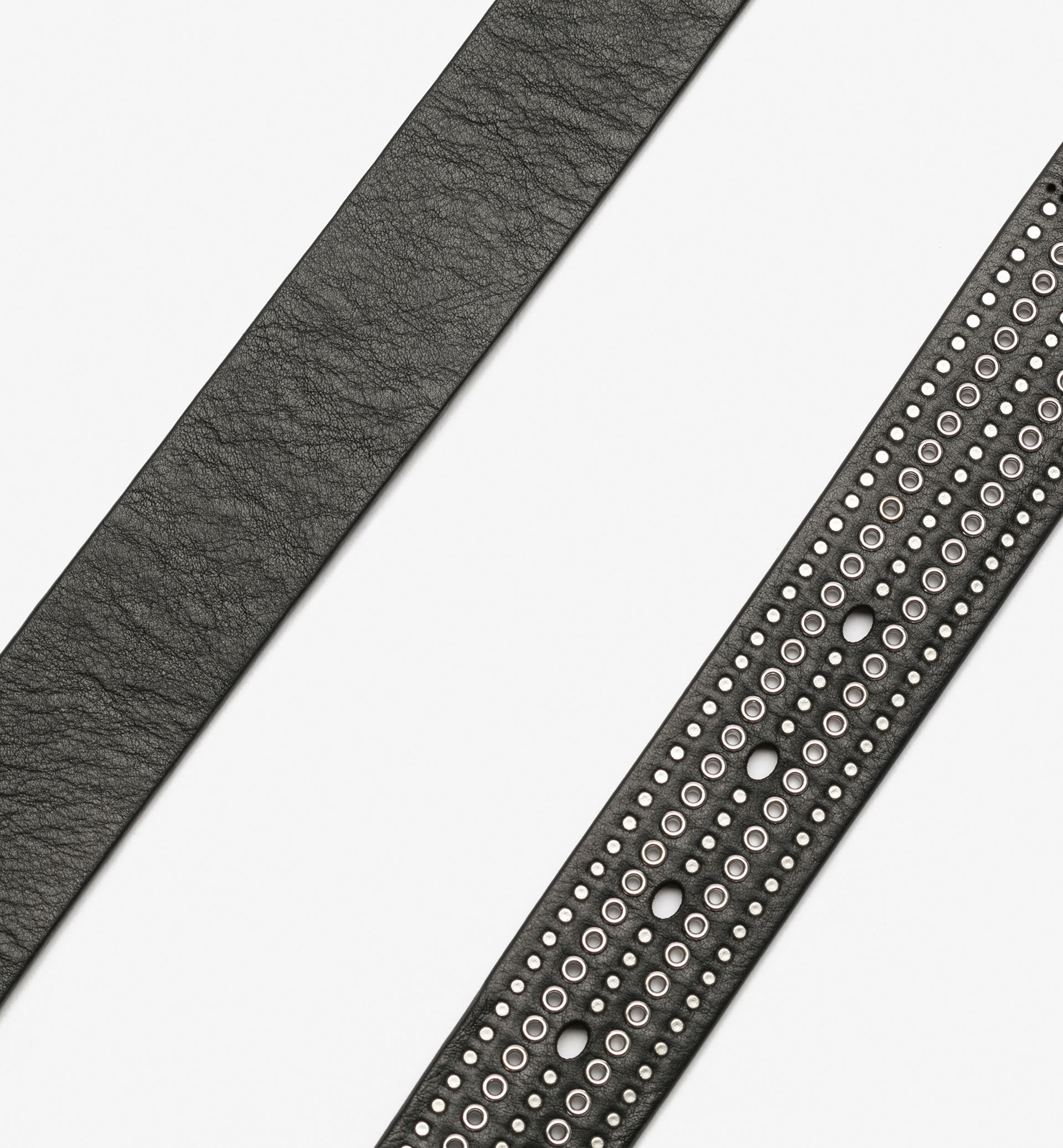 BELT WITH FRONT STUDS