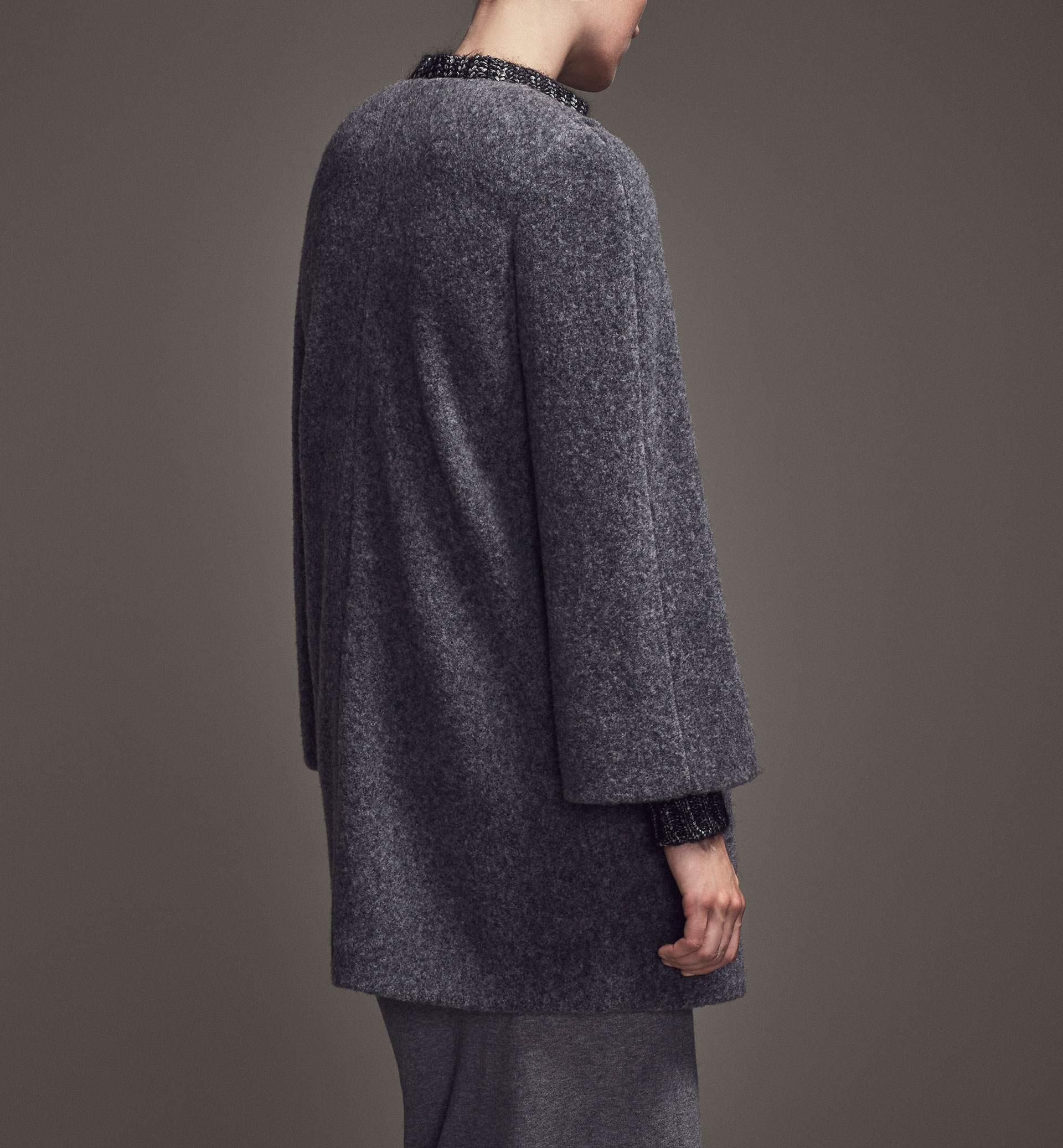LIMITED EDITION OPEN GREY COAT