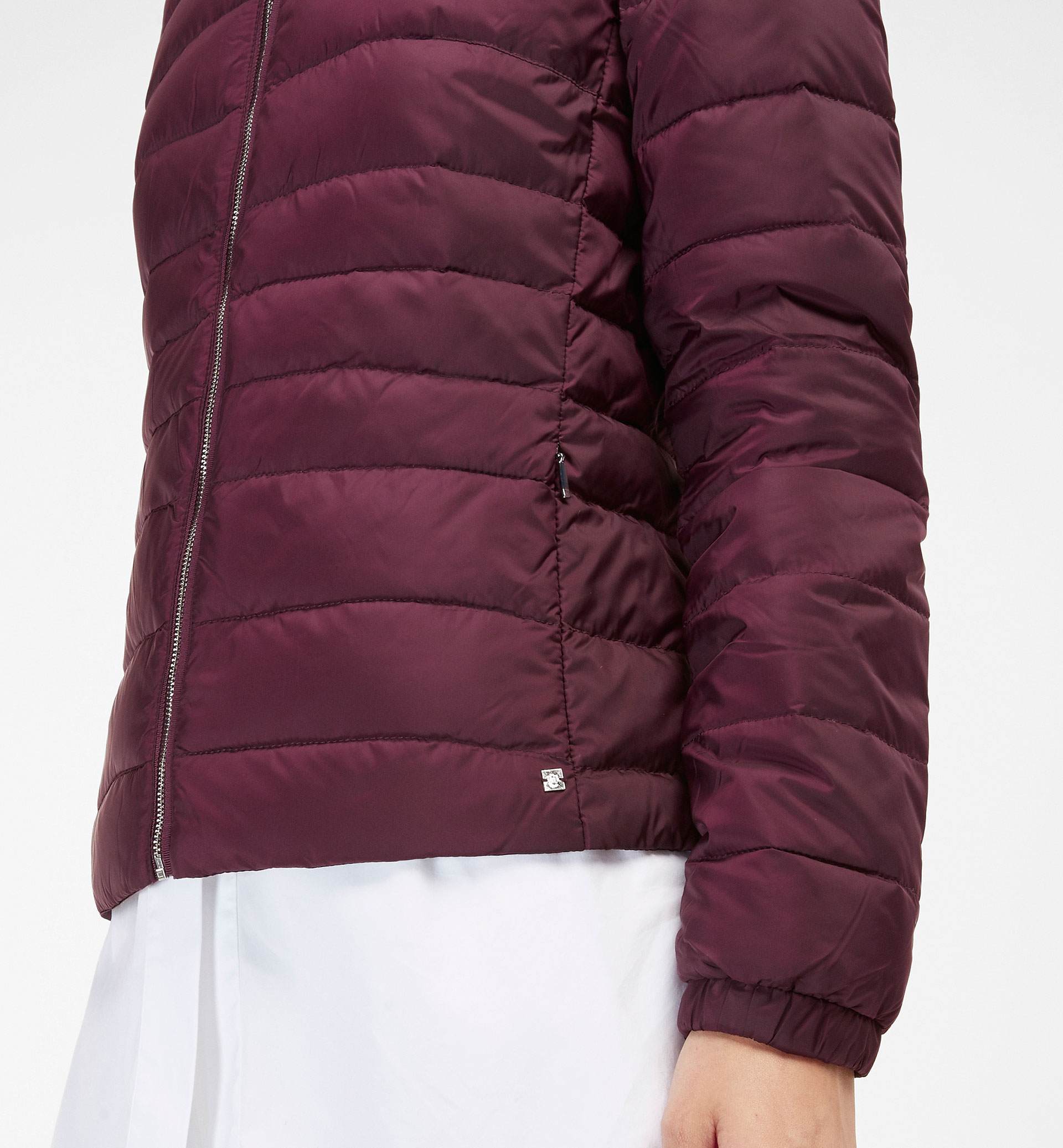 SHORT QUILTED PARKA