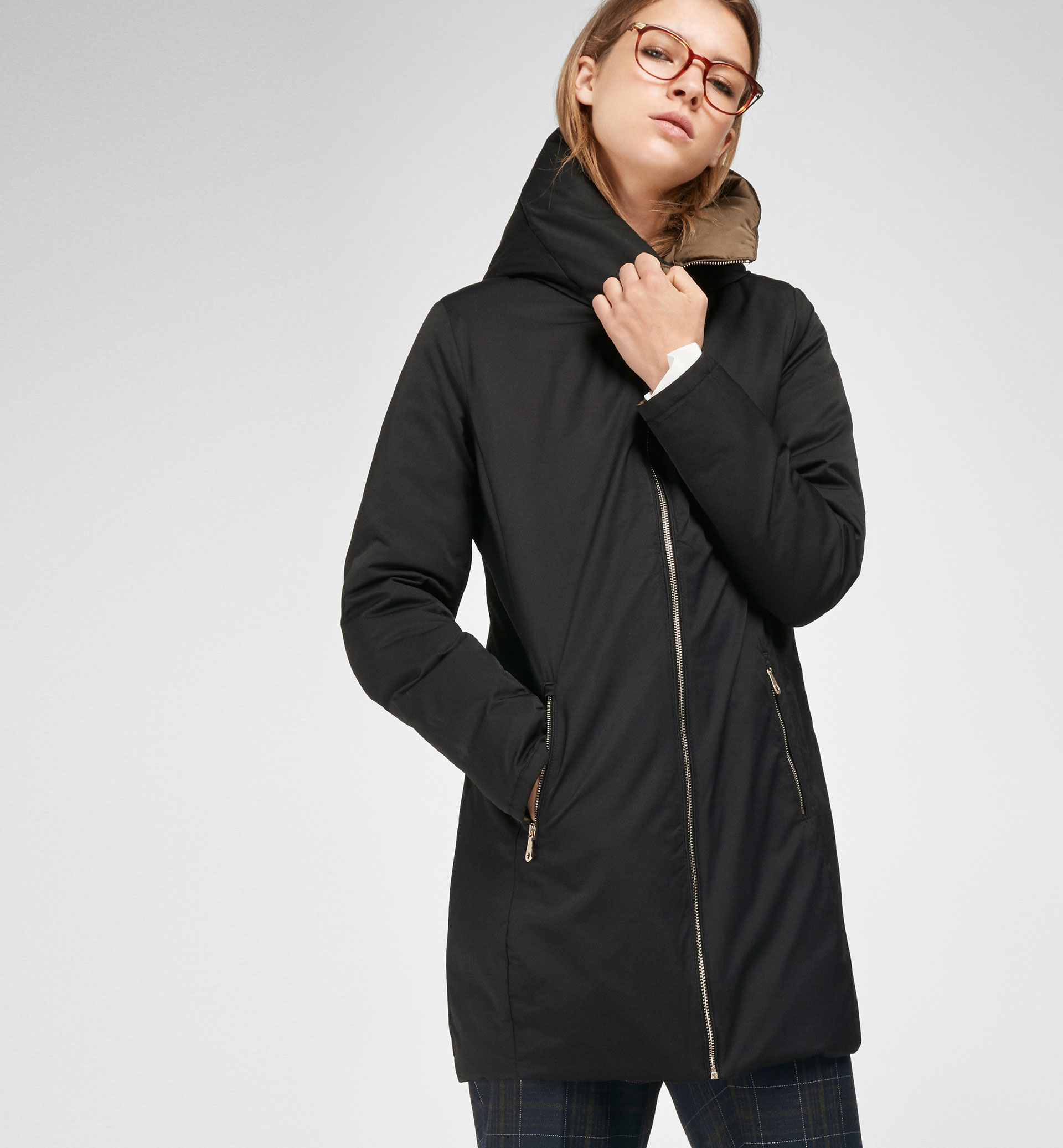 REVERSIBLE QUILTED PARKA