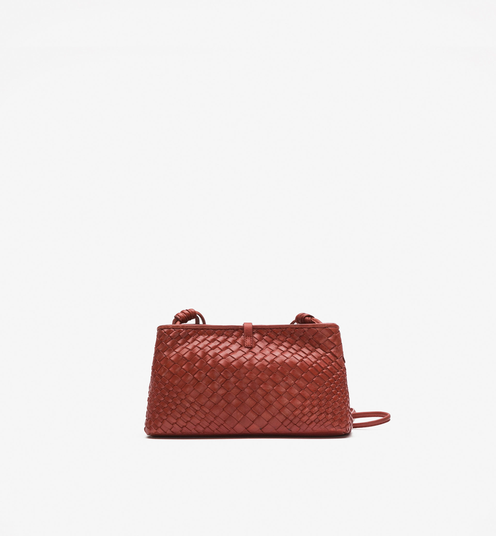DOUBLE PLAITED CROSSBODY BAG