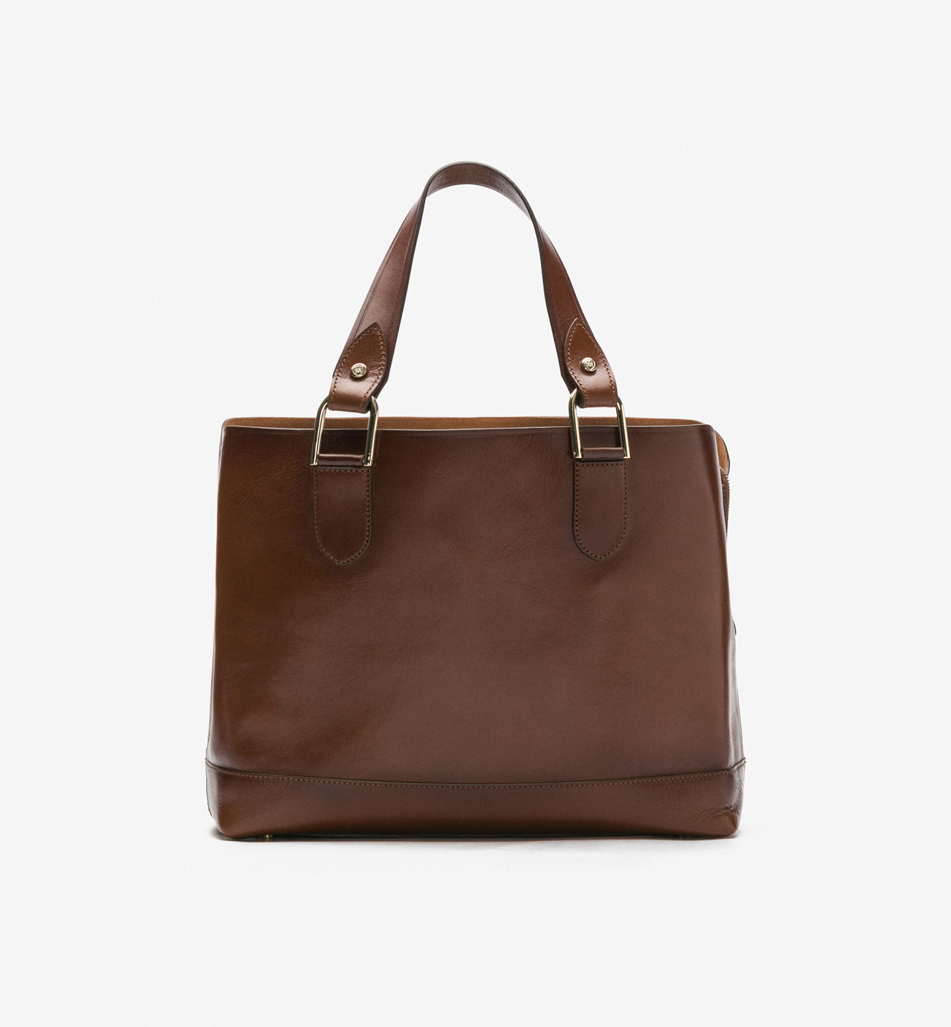 TOTE-STYLE BAG WITH DOUBLE COMPARTMENT
