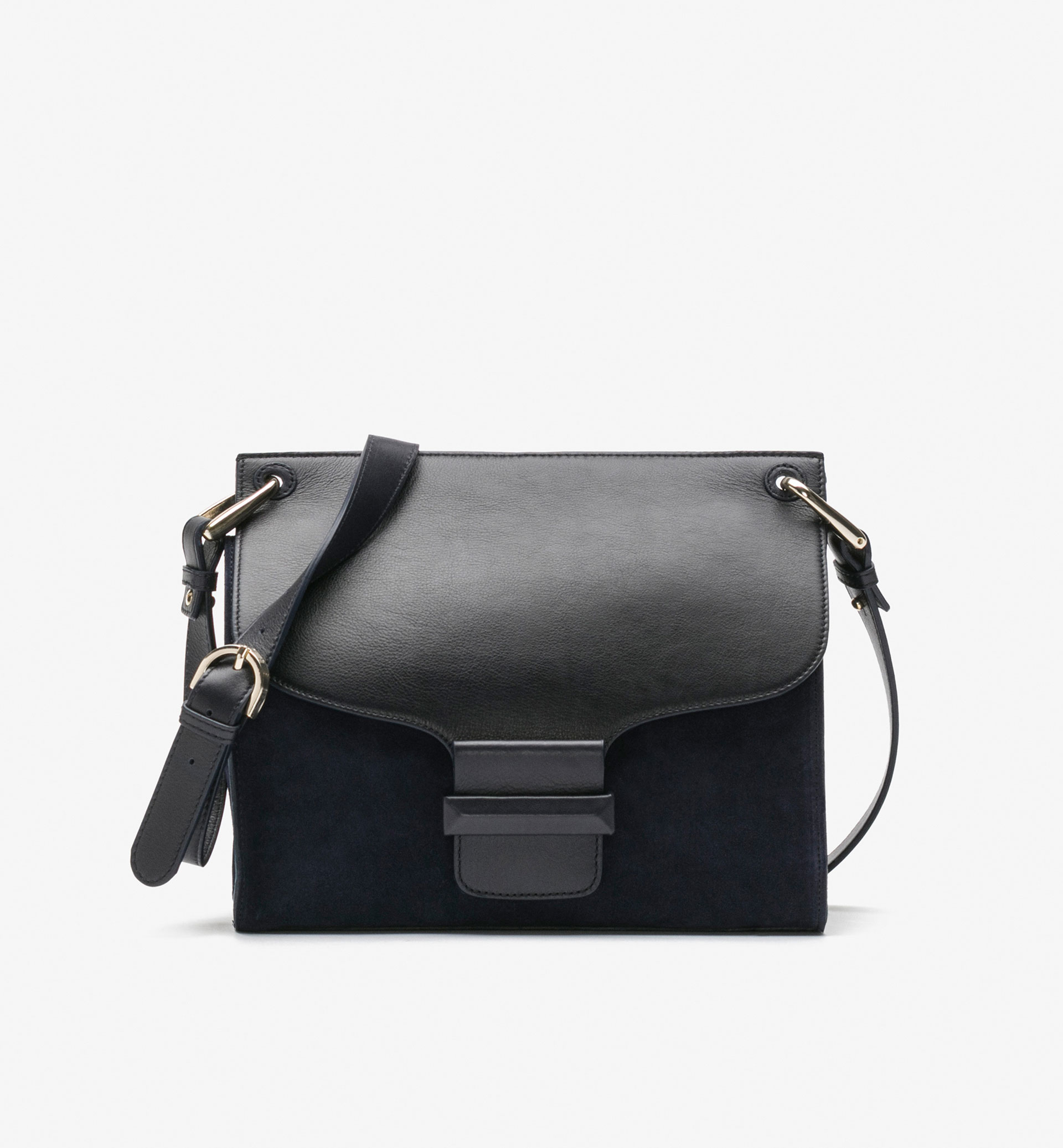 LARGE CONTRASTING CROSSBODY BAG