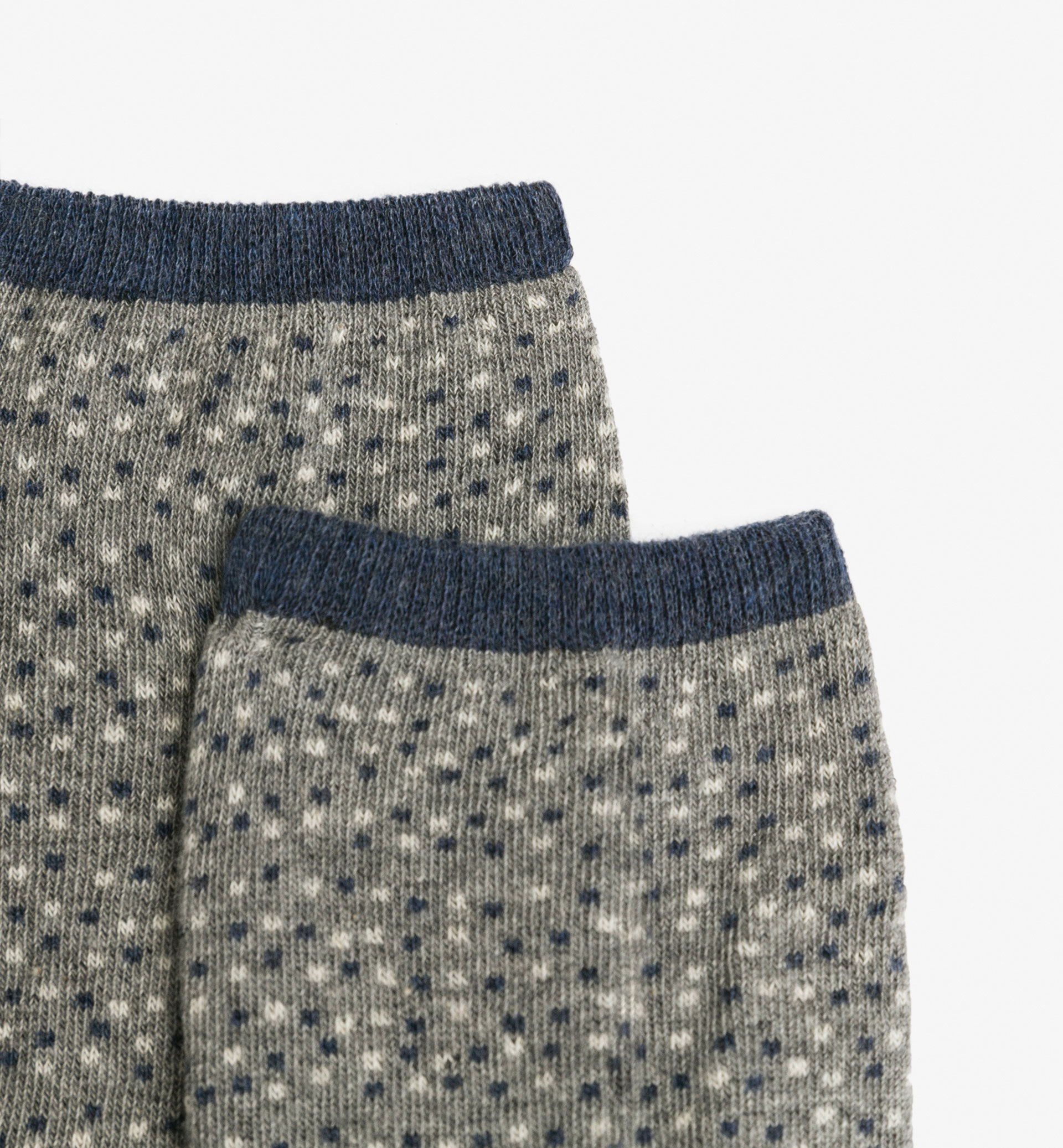 PACK OF POLKA DOT/DENIM SOCKS