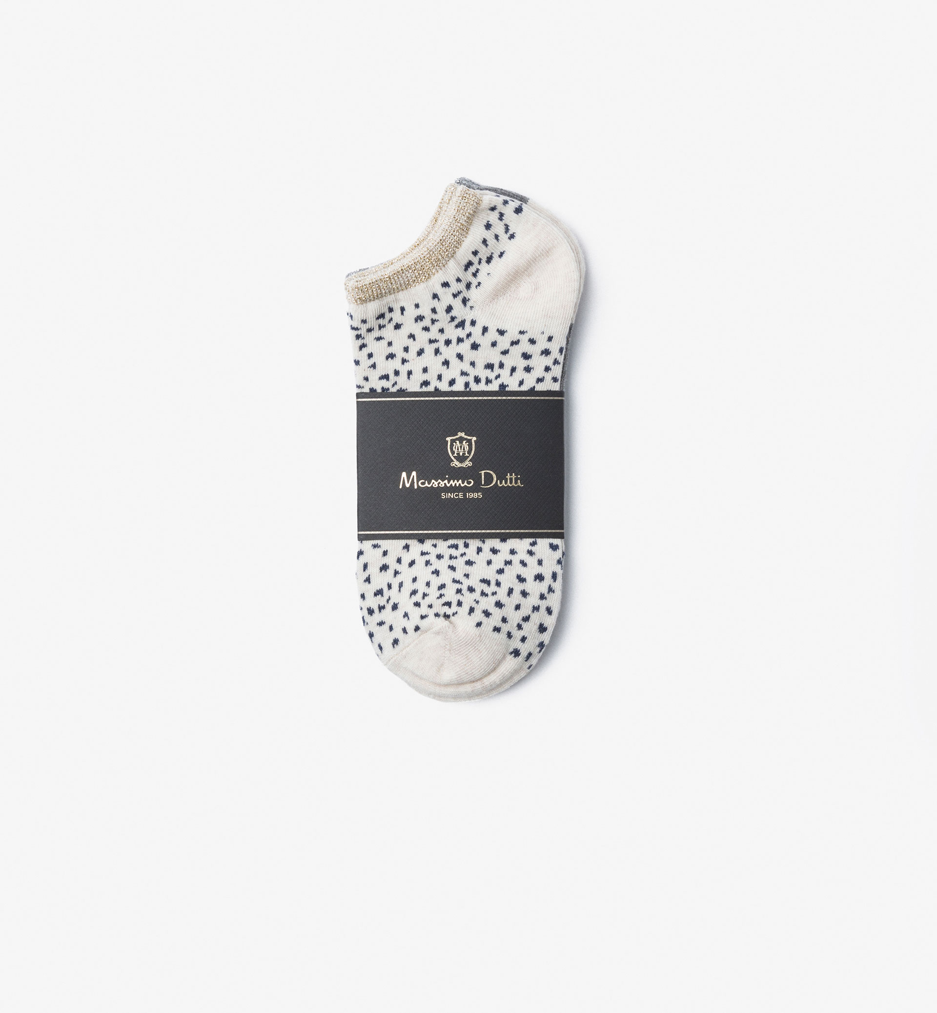 PACK OF ANKLE SOCKS WITH SHINY DETAIL