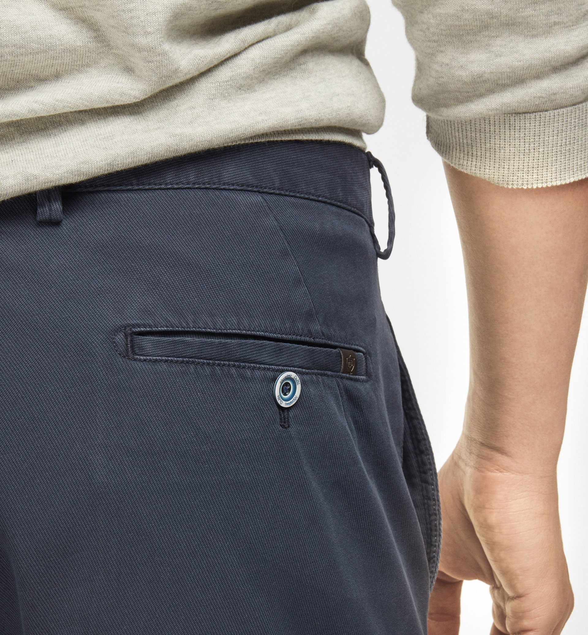 WOOL TEXTURED WEAVE CHINOS