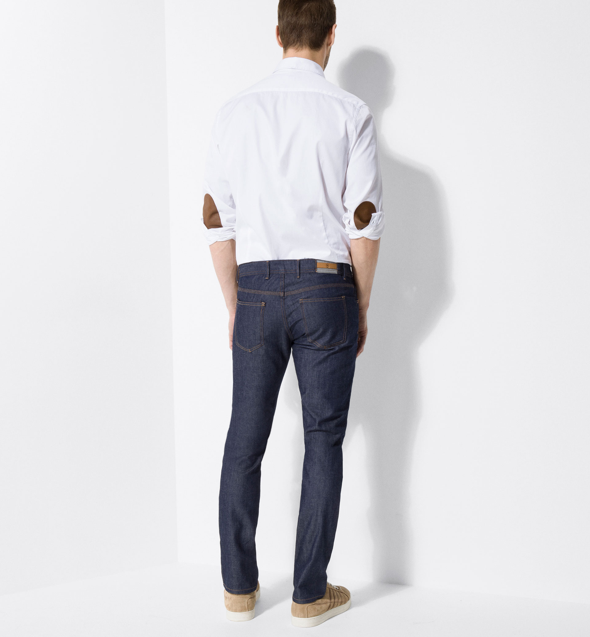TEXANS DESENCOLATS SLIM FIT