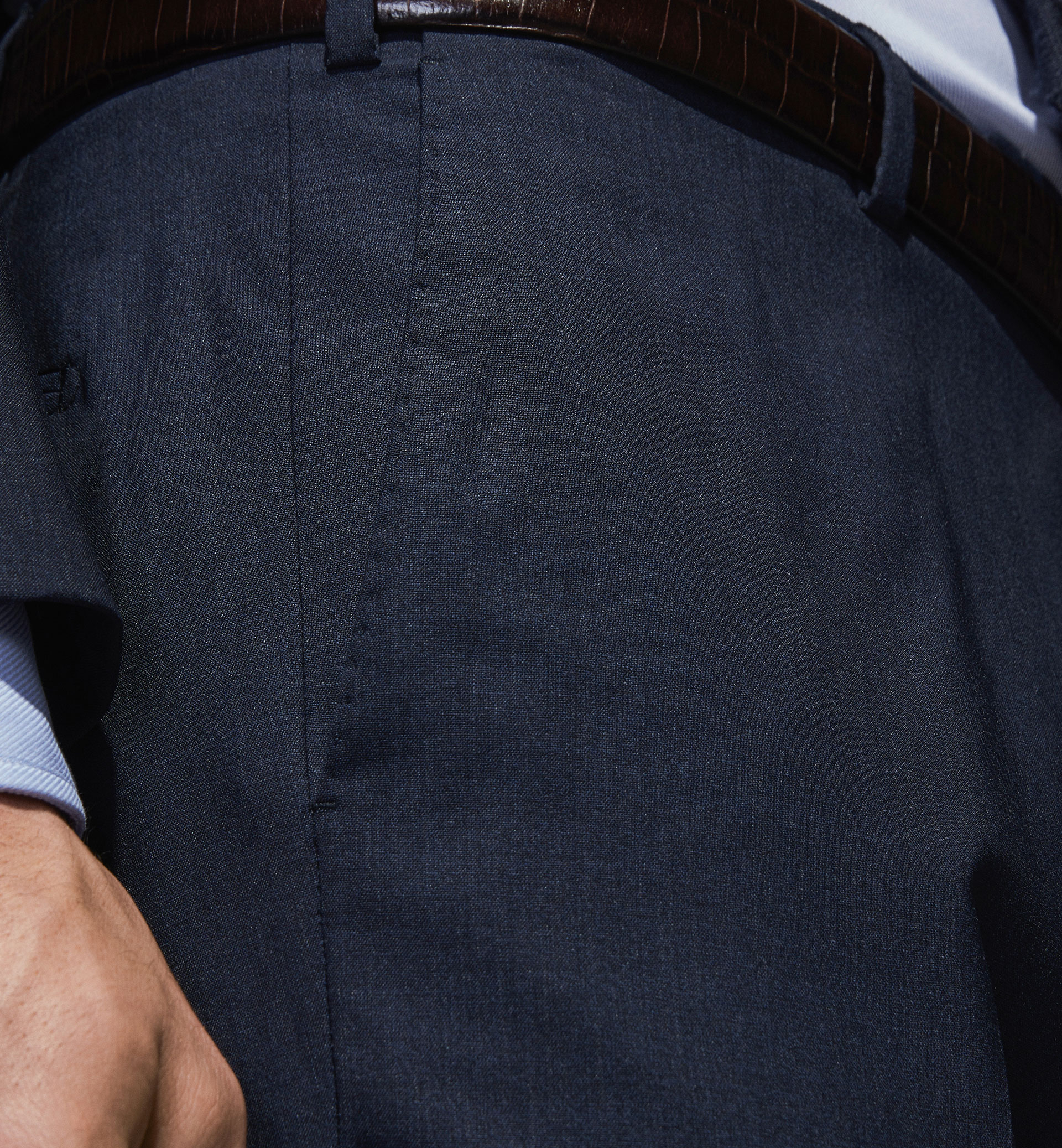 PERSONAL TAILORING 100% WOOL TROUSERS