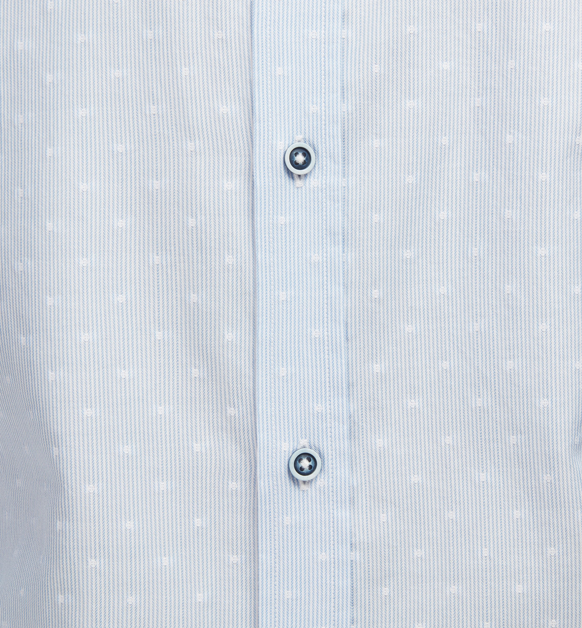 SLIM FIT FIL COUPÉ POLKA DOT AND STRIPE SHIRT